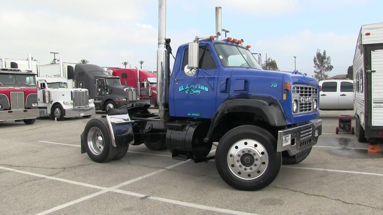 D J Arias Amp Son S Detroit Diesel Powered 1973 Gmc 9500 At