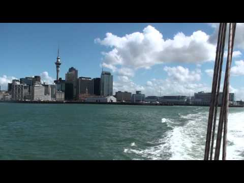 Auckland Harbour Ferry Crossing