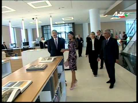 Azerbaijan Diplomatic Academy - New Campus Opening (part 1)