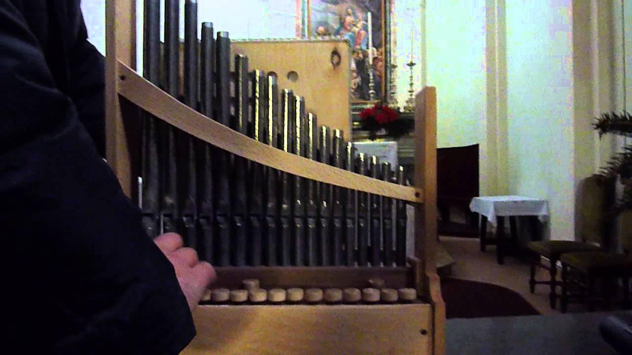 Organo Portativo Organetto Medievale Portative Organ