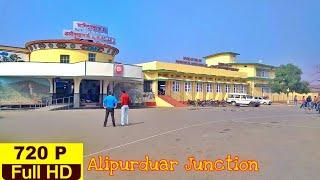 Alipurduar Junction Station Outside to Inside
