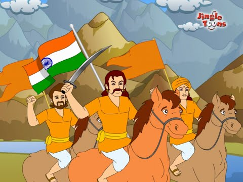 Vande Mataram  26 January Hindi DeshBhakthi Geet  Patriotic Songs  JingleToons