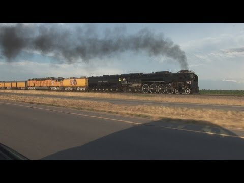 Steam Train Thunder of Union Pacific 844