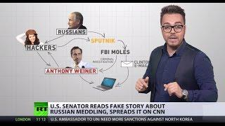 'Russian Meddling': Democrat senator falls for fake news story on US elections