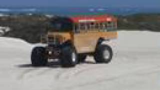 monster truck school bus