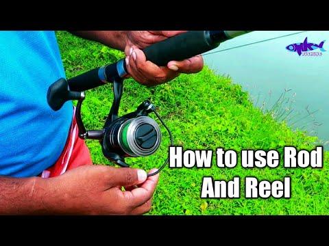 സിംപിളായി Rod And Reel ഉപയോഗിക്കാം | How To Use Rod And Reel Kerala | Fishing Kerala