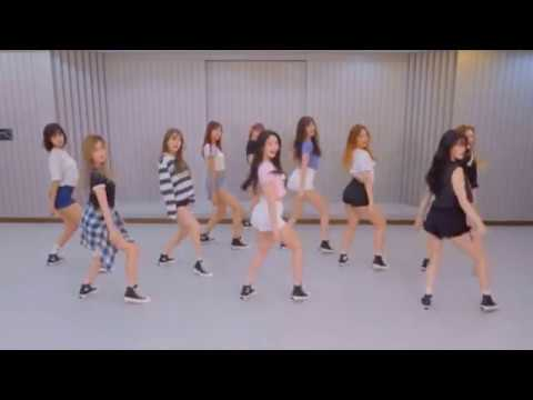PRISTIN 'WE LIKE' mirrored Dance Practice