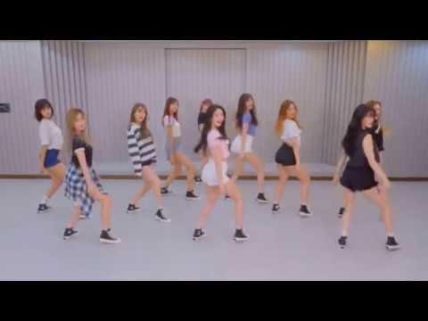 PRISTIN 'WE LIKE' mirrored Dance Practice