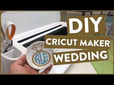 DIY Cricut Maker Wedding 👰 Project!