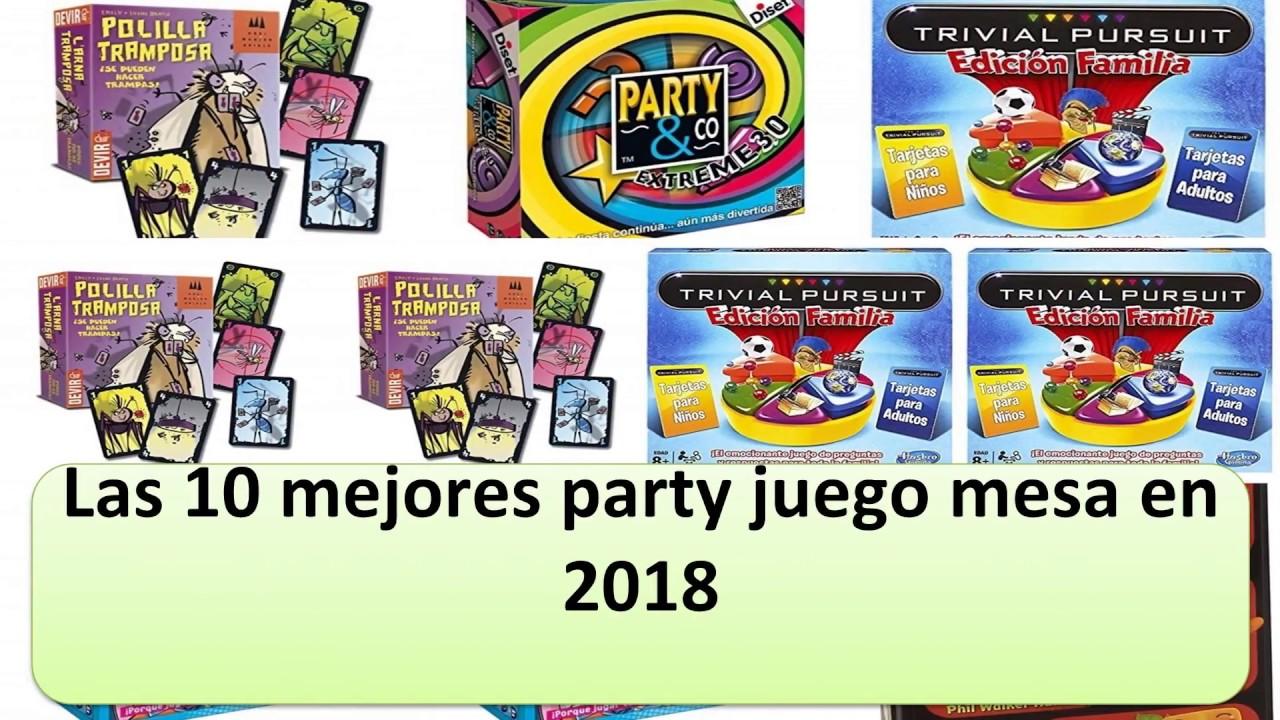 Las 10 Mejores Party Juego Mesa En 2018 Youtube