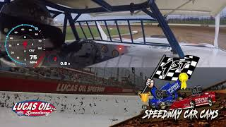 Kenny Carroll Street Stock In-Car Camera @ Lucas Oil Speedway