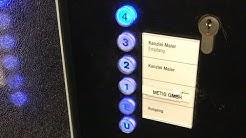 Blue buttons: 1983 Thyssen Elevator at Stuttgart-Bad Cannstatt