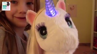 Unser neues Haustier - Starlily von Hasbro - Kinderkanal - Furreal friends - Einhorn - Kinder