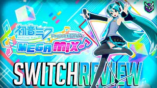 Hatsune Miku Project Diva Mega39's Switch Review - Rhythm Heaven! (Video Game Video Review)