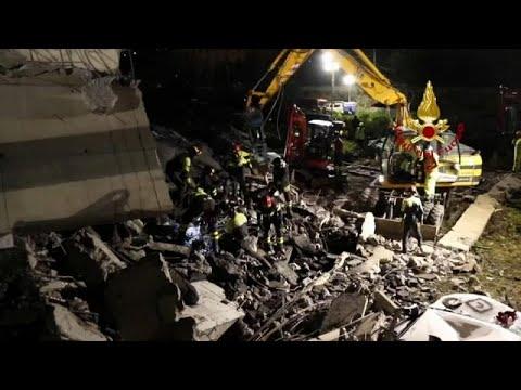euronews (in Italiano): Genova, il vigile del fuoco Davide Capello: