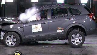 Chevrolet Captiva (2012) CRASH TEST
