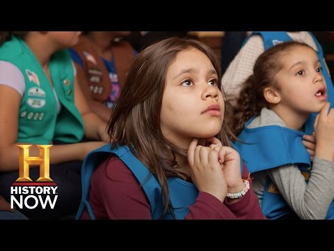 Meet New York's 1st Girl Scout Troop for Homeless Kids | History NOW