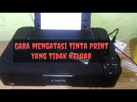 Cara memperbaiki Tinta Print Yang Tidak Keluar pasti WORK.