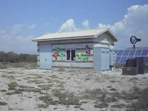 Wind and Solar Installation at the Bondurant Post Office, Wyoming