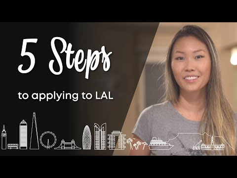 How to apply at LAL (STUDY ABROAD in 5 EASY STEPS!)