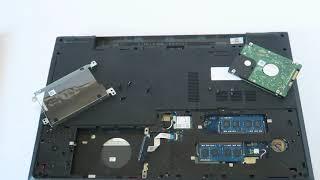 Dell Inspiron 5758 Upgrade SSD Drive RAM