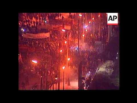 GREECE: ANTI NATO PROTESTS