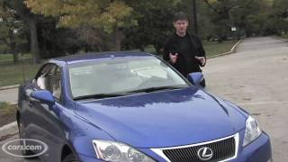 2010 Lexus IS Convertible Videos