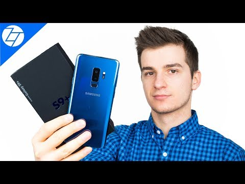 Samsung Galaxy S9 Plus (CORAL BLUE) - Unboxing & Initial Review!