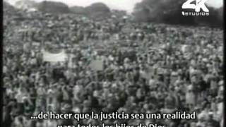 Martin Luther King Jr. - I Have A Dream [Subtitulado Español] [Parte 1/2]