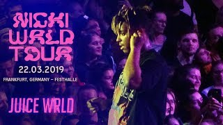 #NickiWRLDTour in Frankfurt - Festhalle (22.03.2019)  Juice WRLD [Part 22]