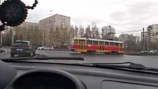 Круговое движение, кольцо вождение. Барнаул перекресток с круговым кольца. Экзамен ГИБДД ГАИ