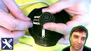 ✅ РЕМОНТ ЧАЙНИКА: ремонт контактів в підставці електричного чайника / Дрібний ремонт