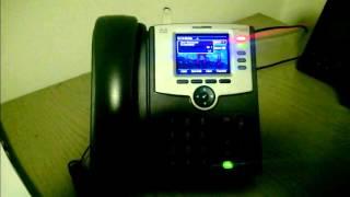 Cisco SPA525 Recording Feature Demo