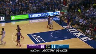 Evansville vs Duke College Basketball Condensed Game 2017