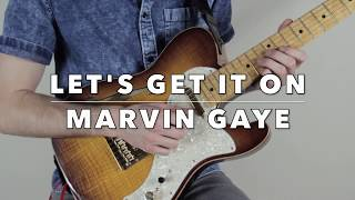 Let's Get It On by Marvin Gaye (Guitar Cover)