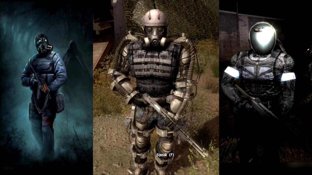 S.T.A.L.K.E.R. Mercenary Voices and Sounds