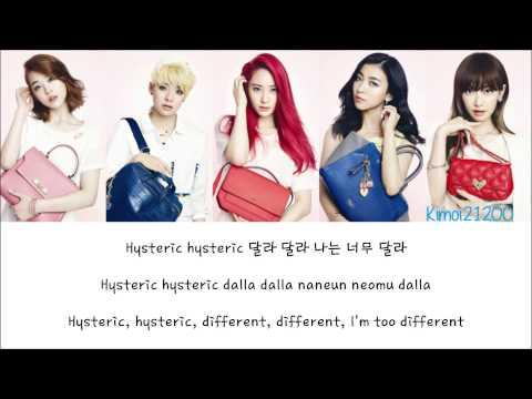 F(x) - NU ABO [Hangul/Romanization/English] Color & Picture Coded HD