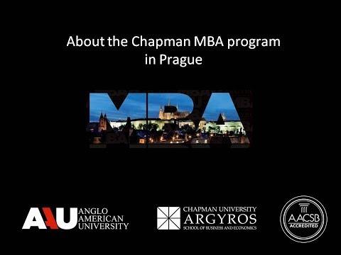 Chapman MBA program in Prague