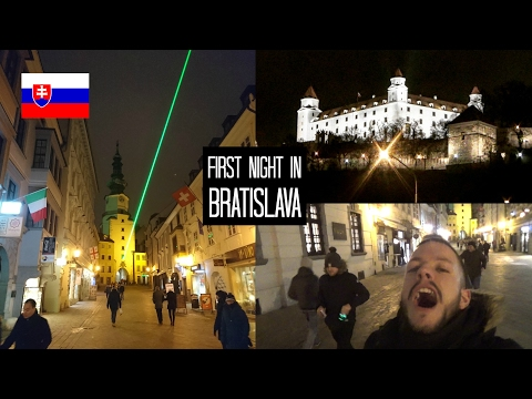 DAY 10: First night in Bratislava