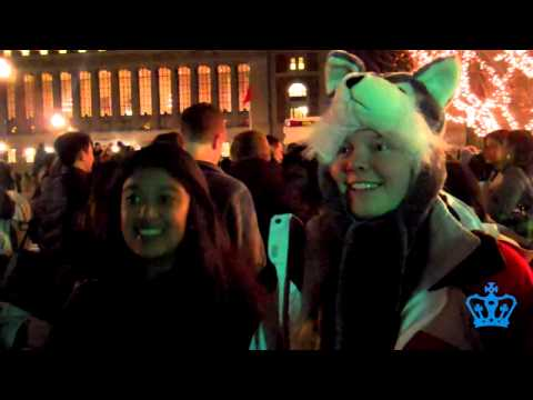 Columbia Tree Lighting: First Year Perspectives
