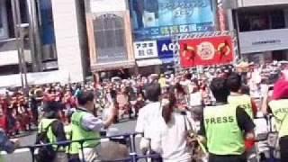沖縄国際映画祭の宣伝と山田花子さん・石田靖さん・しずるの2人によるト...