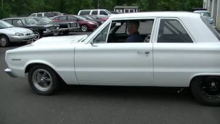 1967 Plymouth drag car