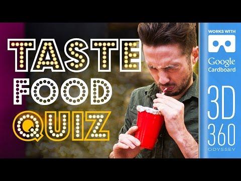 The Taste Round | Common Senses Quiz (VR)