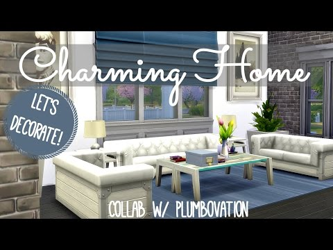 Sims 4 | Interior Design: Charming Family Home