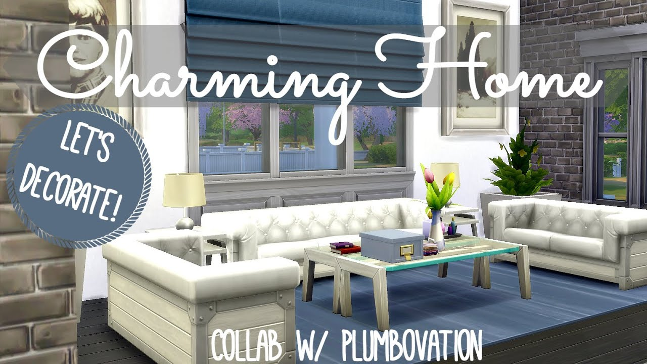 Sims 4 Interior Design Charming Family Home YouTube