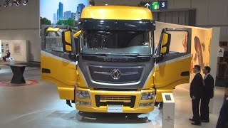 Dongfeng KX 6x4 Tractor Truck Exterior and Interior in 3D 4K UHD