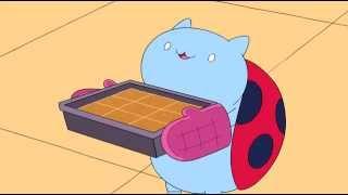Catbug - Peanut butter squares!