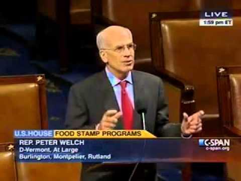VT Congressman Peter Welch Defends SNAP/3SquaresVT
