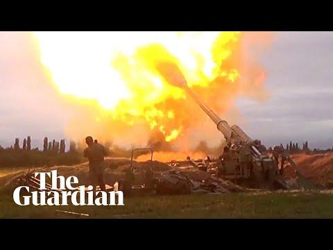 Armenia and Azerbaijan clash over disputed Nagorno-Karabakh region