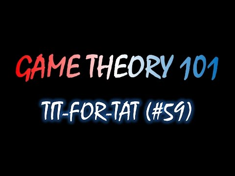 Game Theory 101 (#59): Tit-for-Tat in the Repeated Prisoner's Dilemma